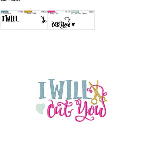 I will cut you 6×10