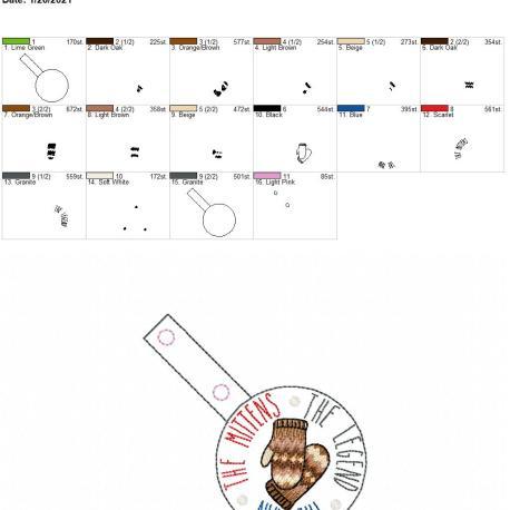 Man Mittens Legend Snaptab 4×4