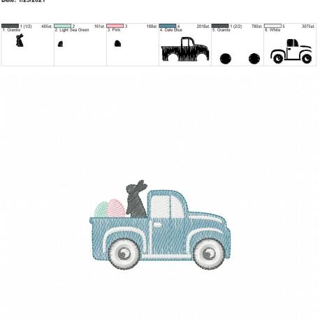 Sketch Easter Truck 4×4