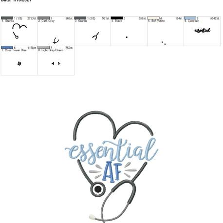 essential AF 8×12