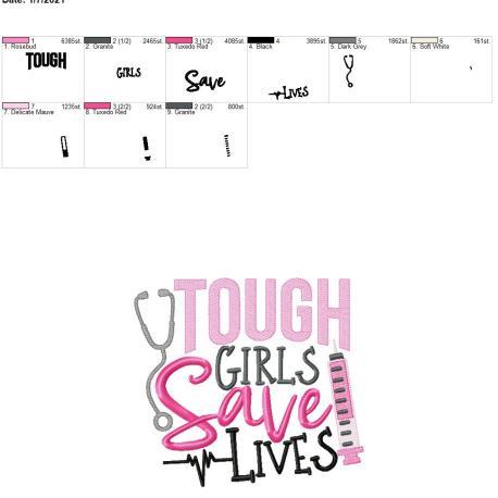 tough girls save lives 8×12
