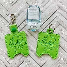 Lucky Sanitizer Holders – DIGITAL Embroidery DESIGN