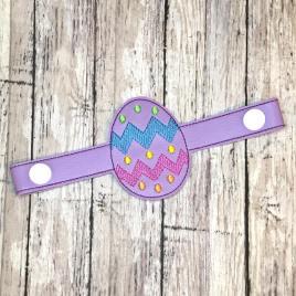 Mask Extender Easter Egg – 2 sizes – DIGITAL Embroidery DESIGN