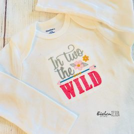 Boho In Two the Wild- 3 sizes- Digital Embroidery Design
