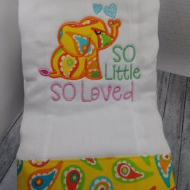 So Little So Loved – 4 sizes- Digital Embroidery Design