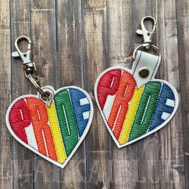 Pride Fobs – DIGITAL Embroidery DESIGN