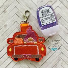 Gnome Fall Truck Sanitizer Holder – DIGITAL Embroidery DESIGN