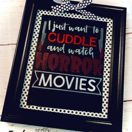 Horror Movies – 3 sizes- Digital Embroidery Design