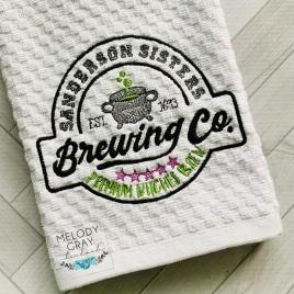Sanderson Sisters Brewing Co. – 3 sizes- Digital Embroidery Design