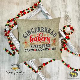 Gingerbread Bakery – 2 sizes- Digital Embroidery Design