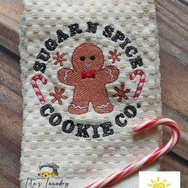 Sugar N Spice – 4 sizes- Digital Embroidery Design