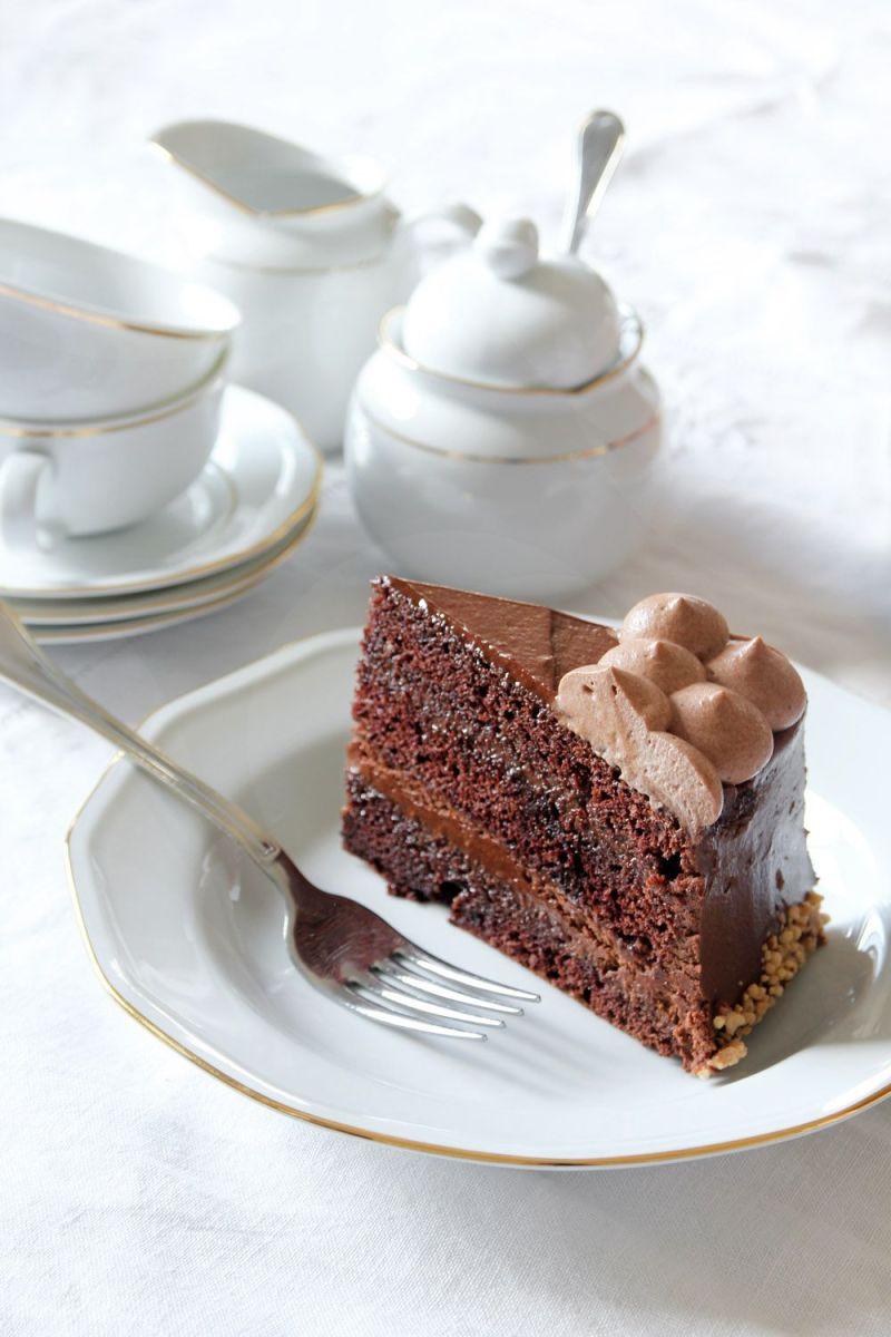 Caramel Hazelnut Chocolate Cake