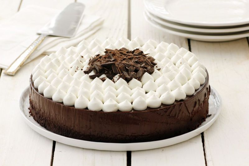 Easy Chocolate Cake with Whipped Cream