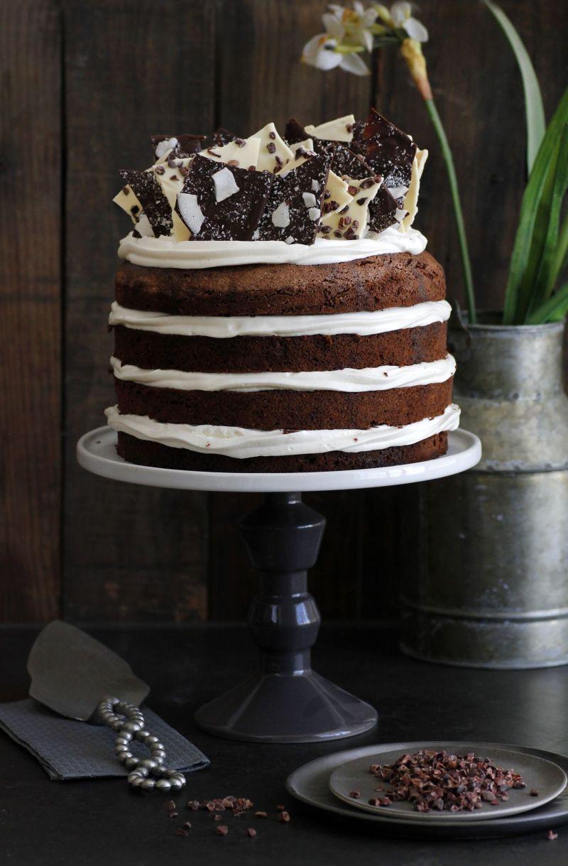 עוגת שוקולד ב-8 שכבות