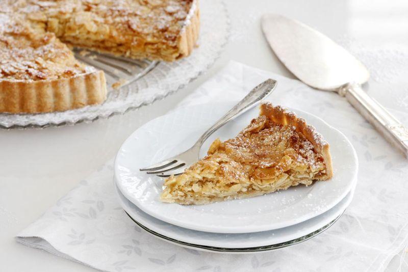 Coconut Almond Pie with Honey