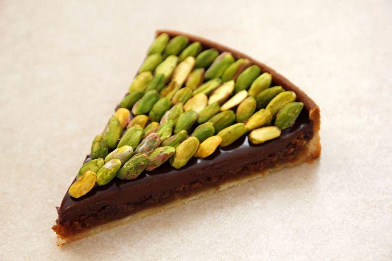 Modern Chocolate Nut Pie