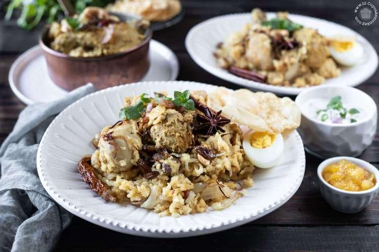 Moms Chicken Biryani   lilcupcakemonkey.com
