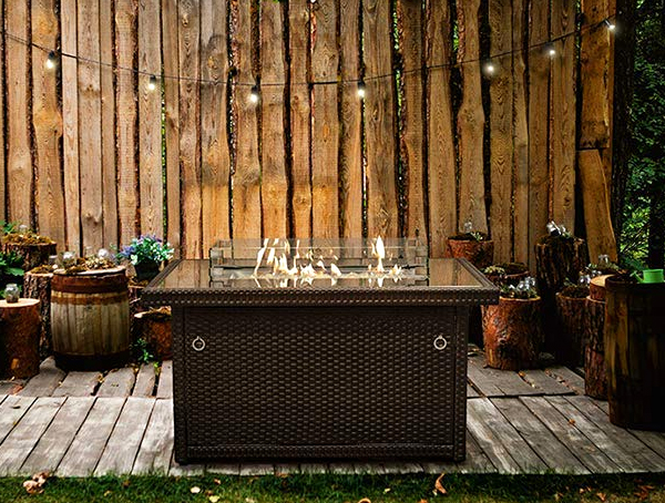 Outland Living Propane Gas Fire Pit Table - Lil Deal on Outland Gas Fire Pit id=84191