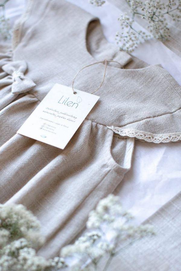 naturalna-wygodna-miekka-sukienka-dla-dziewczynki-szyta-w-polsce-wysokiej-jakosci-z-naturalnych-materialow-z-kokardka-koronka-podszewka-lilen