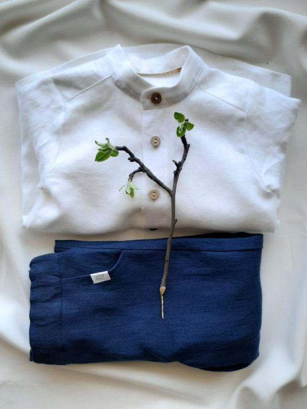 piekna-lniana-minimalistyczna-eko-naturalna-koszula-chlopieca-spodnie-z-obnizonym-krokiem-dla-chlopca-galazka-jabloni-szyte-recznie-lilen