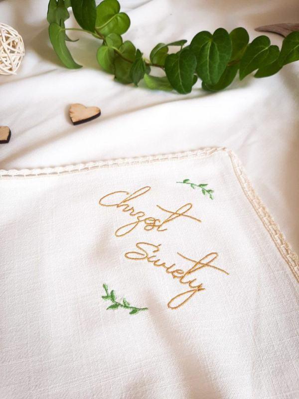naturalna-biala-haftowana-szatka-do-chrztu-lilen-lilenstore