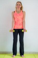 Biceps position de départ/ Affiner les bras