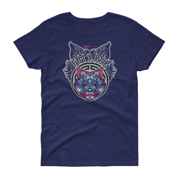 "Fenrir ""Dragon"" - T-shirt Femme manches courtes"