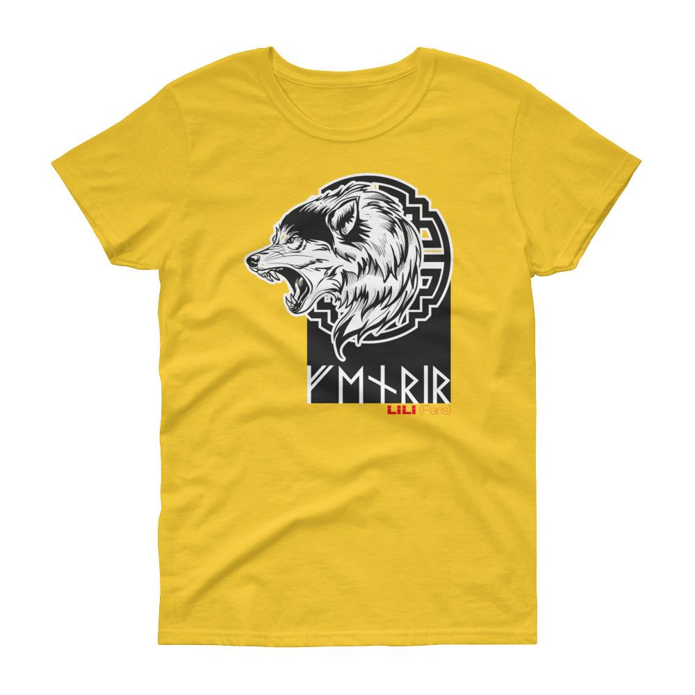 """Fenrir """"Enragé"""" – T-shirt femme manches courtes"""