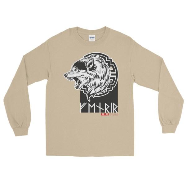 """Fenrir """"Enragé"""" - T-shirt manches longues Homme et Femme (Unisexe)"""