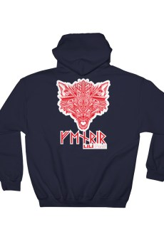 "Fenrir ""Tatoo"" - Sweat à capuche Unisexe"