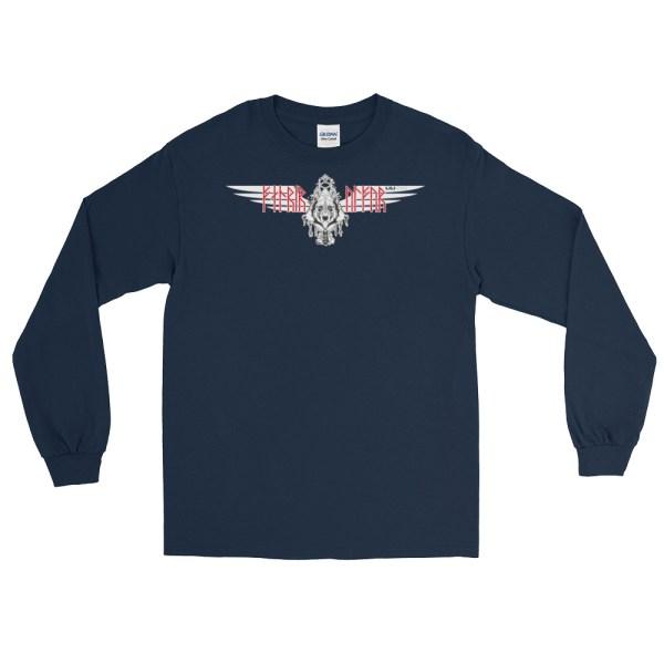 """Fenrir """"Ulfur"""" - T-shirt manches longues Homme et Femme (Unisexe)"""