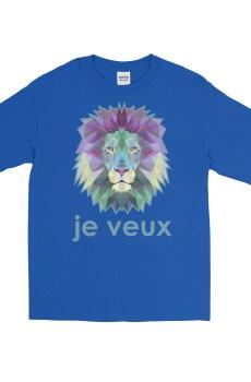 """Zoo """"Lion"""" - T-shirt manches longues Homme et Femme (Unisexe)"""