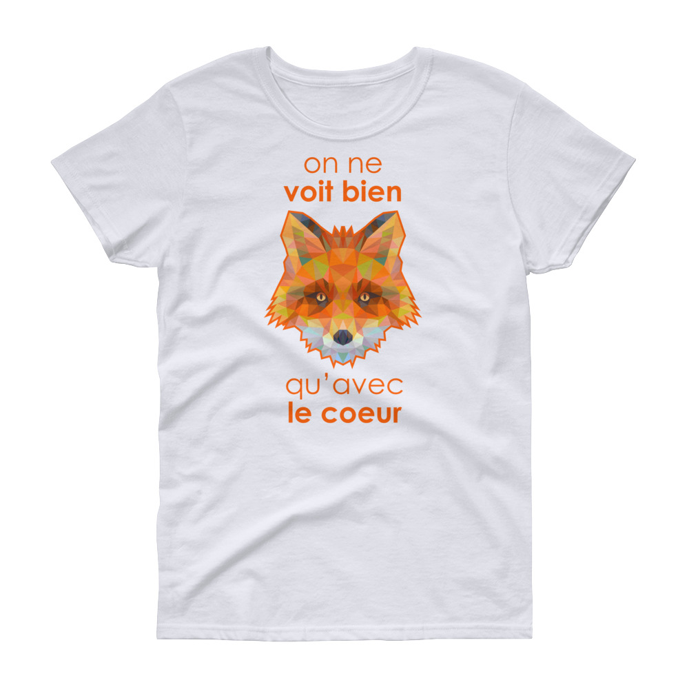 Renard T Zoo Shirt Manches 2019 Femme Courtes dsQrxthCB