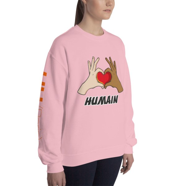 "Handwritings ""Humain"" - Sweat-shirt Unisexe"