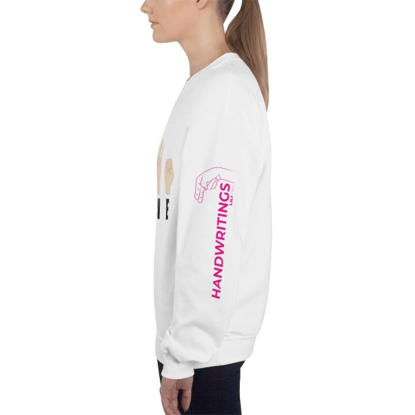 "Handwritings ""Love"" - Sweat-shirt Unisexe"