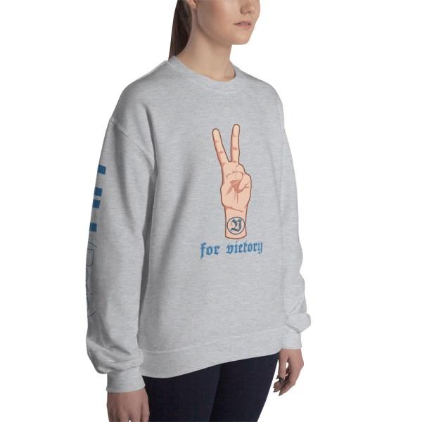 "Handwritings ""V for Victory"" - Sweat-shirt Unisexe"