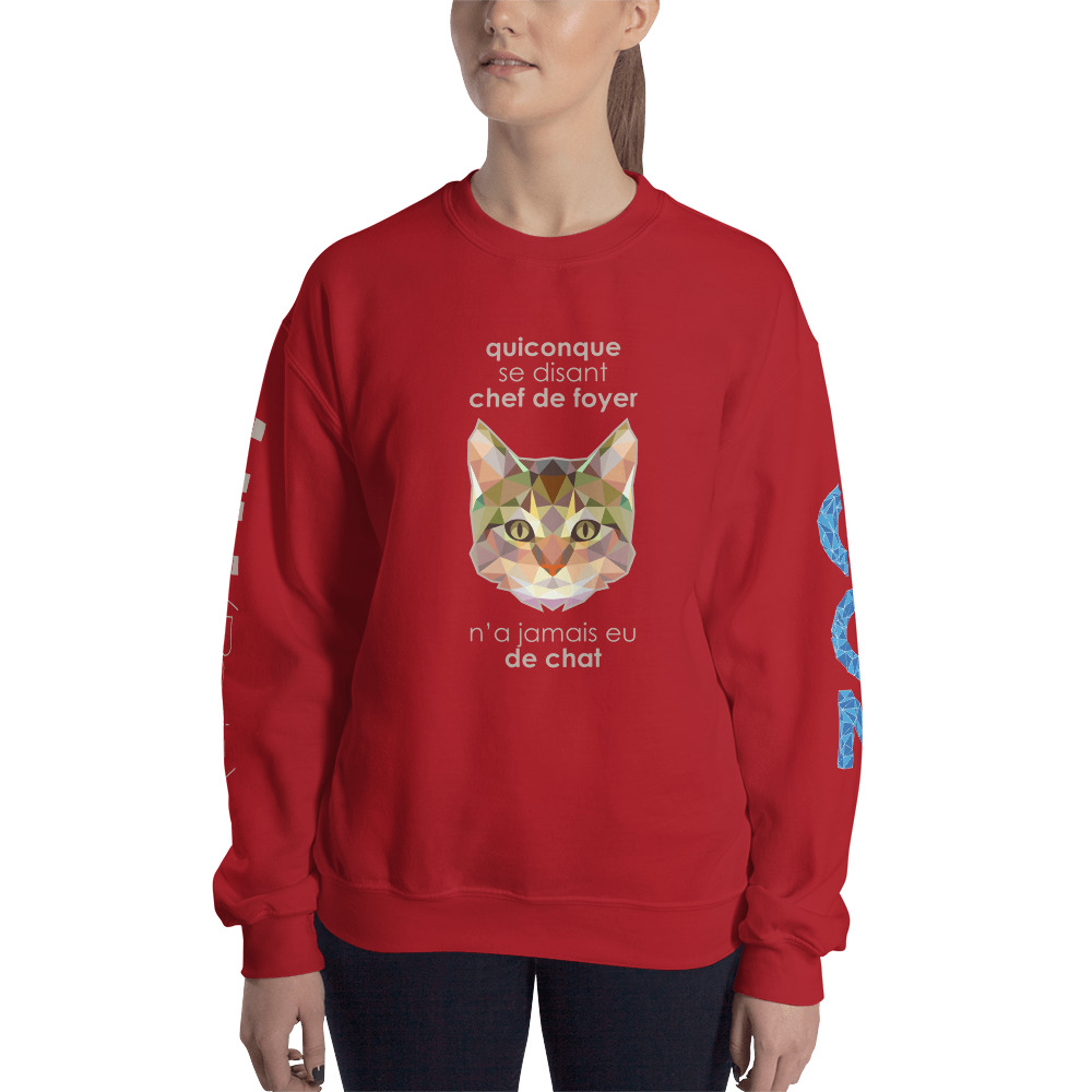 "Zoo ""Chat"" – Sweat-shirt Unisexe"
