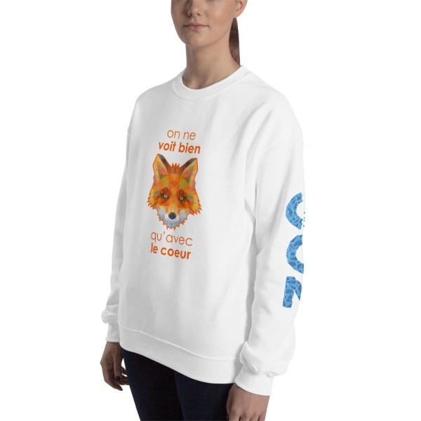 "Zoo ""Renard"" - Sweat-shirt Unisexe"