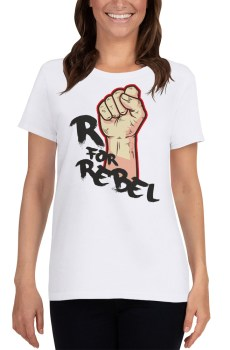"Handwritings ""R for Rebel"" - T-shirt manches courtes Femme"