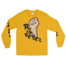 "Handwritings ""R for rebel"" - T-shirt manches longues Unsexe"