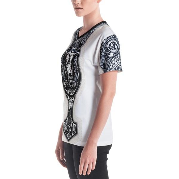"Fenrir ""Mjolnir"" - T-shirt col V Femme"