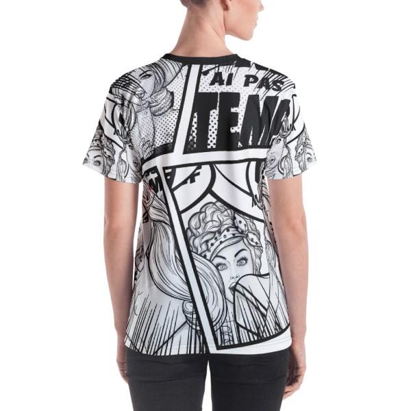 "Punchliness ""Ça se voit"" - T-shirt Crew-neck Femme"