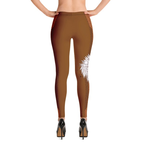 "Zoo Lion Edition ""African Queen"" - Leggings Casual Femme"