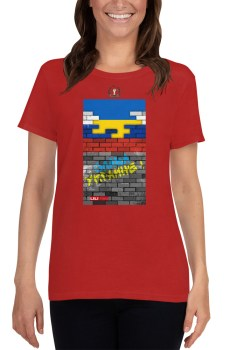 Ruina Imperii : Слава Украине ! - T-shirt pour Femme