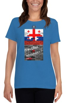 Ruina Imperii : RuSSia is Occupant - T-shirt pour Femme