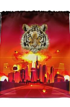 """Zoo """"Tigre"""" - Sac à cordons"""