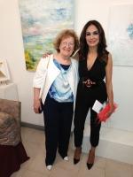 con Mariagrazia Cucinotta