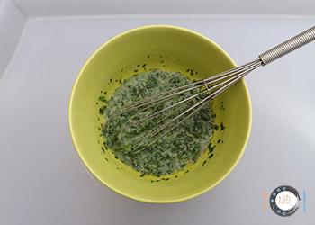 épinard + beurre au micro onde