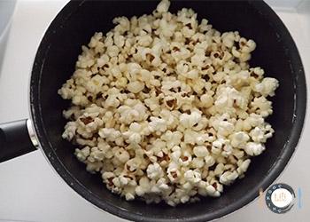 Pop-corn au Caramel recette détaillée Cuisson pop corn