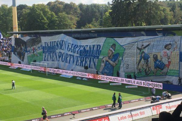 Choreografie der Darmstadt-Fans